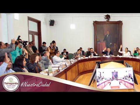 Cabildo H. Ayuntamiento de Tlalnepantla de Baz 09 de octubre del 2019