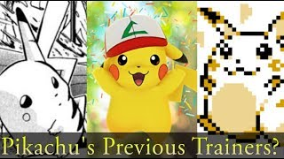 Protomario - REMEMBER to LIKE and Check the Links Below! =)So who was Pikachu's original trainer, Ash's father, Professor Oak, or champion Red? Today I explore the potential using evidence within the series, anime, manga, and games to prove who was Pikachu's original trainer.Citations For Today's Video -Link to my Patreon -https://www.patreon.com/protomarioFollow me and Tweet Me A Question and I'll answerhttps://twitter.com/ProtomarioMusic used -GlitchxCityPlease Note, all the Pictures and Video Images that I use do not belong to me. I own no rights to the images found on Google, or recorded from said Video Games. All content is property of its content creator. Please support the companies that produce these Video games, Pictures, and Musical Segments.All footage taken falls under ''fair use'' of the Digital Millennium Copyright Act (1998). Therefore, no breach of privacy or copyright has been committed. Freedom of speech is the ability to speak without censorship or limitation.God Bless you and Jesus Loves you! =)