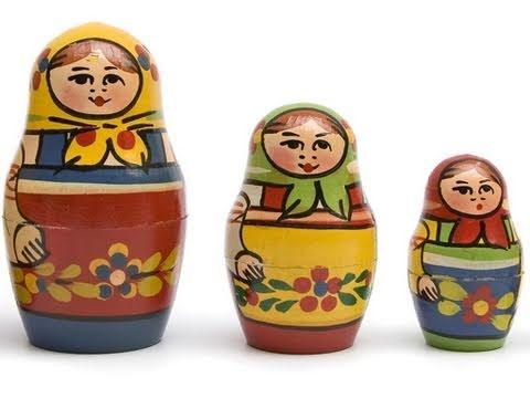 Russische Puppen - Worte der Welt