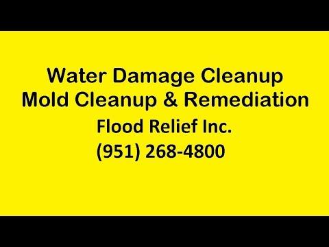 Water Damage Restoration Cleanup Corona CA | Mold Remediation