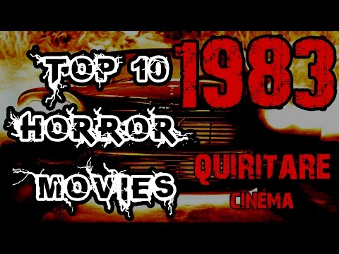 Top 10 Horror Movies - 1983
