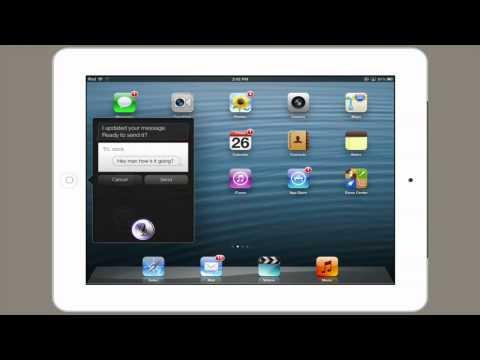 How to Use Siri on the New iPad : Tech Yeah!