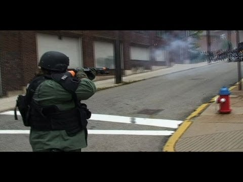G 20 - Protesters gather in Pittsburgh to demonstrate outside the G-20 Summit. Protesters, however, continue to develop tactics to counter a massive police and mili...