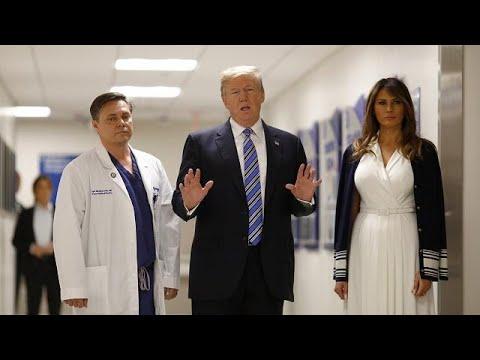 Parkland: Trump besucht Amoklauf-Opfer im Krankenha ...