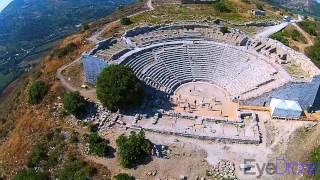 Drone sul Teatro di Segesta