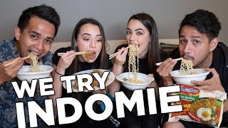 Video We Try Indomie with SkinnyIndonesian24! - Merrell Twins MP3, 3GP, MP4, WEBM, AVI, FLV Oktober 2018