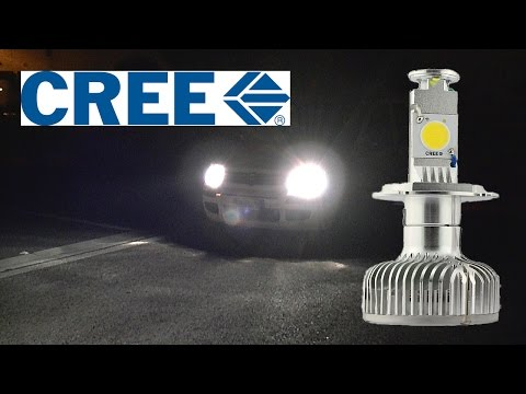 First LED Car Headlights Kit with active fan cooling