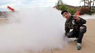 Video 1,000 POUNDS OF DRY ICE IN MY POOL CHALLENGE!! (SUPER CRAZY) | FaZe Rug MP3, 3GP, MP4, WEBM, AVI, FLV Januari 2019