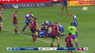 Stormers v Reds Rd.6 2018 Super Rugby Video Highlights