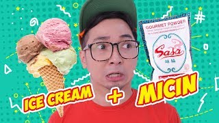 Video ICE CREAM + MECIN !! enak gak ya?? #EGY MP3, 3GP, MP4, WEBM, AVI, FLV September 2018