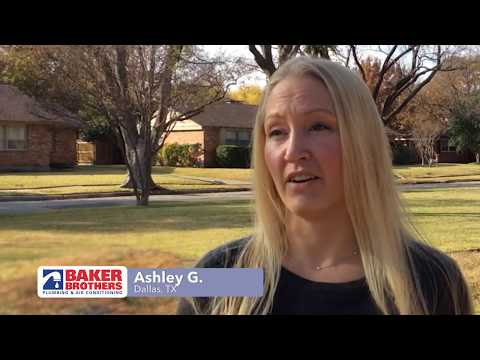 Baker Brothers Plumbing Review – Ashley G. – Dallas, TX