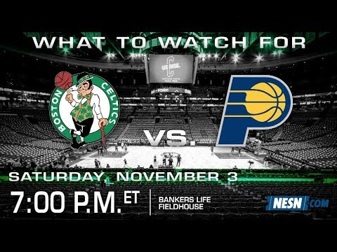 Video: Celtics vs. Pacers Game Preview