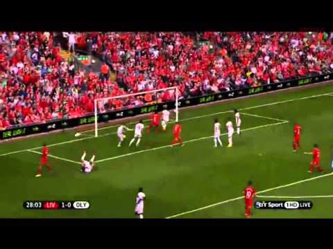 Liverpool Vs Olympiakos (2-0) All Goals & Highlights 8/03/13