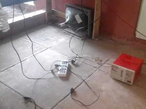 Locally Made Power Inverter Using Microwave Transfo