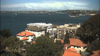 Sydney Webcam Time Lapse for Wed, 18th February 2015