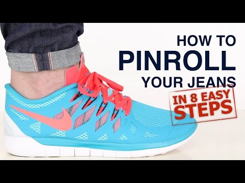 How To Pinroll Jeans: Pinroll Jeans in 8 Steps