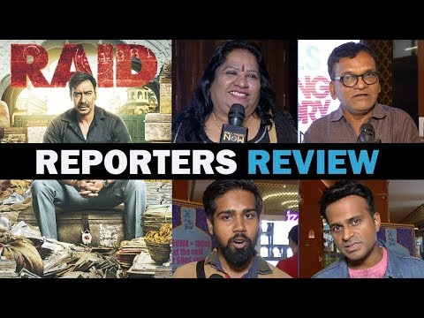 Raid Movie Review By Reporters | Ajay Devgn Ileana