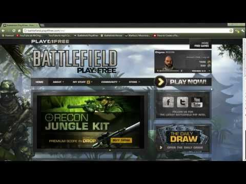 [How to]Battlefield Play4Free Battlefunds For Free [and Summer special giveaway]