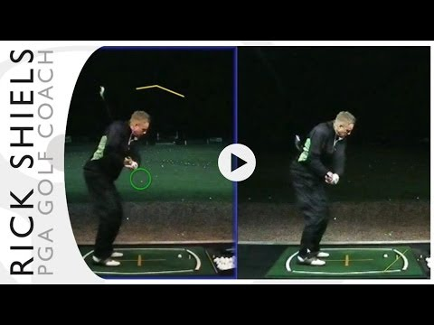 CHANGING A PULL/FADE INTO A DRAW GOLF LESSON