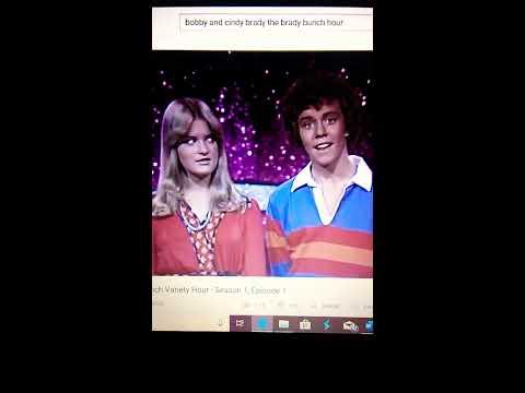 Mike Lookinland and Susan Olsen in 1976!