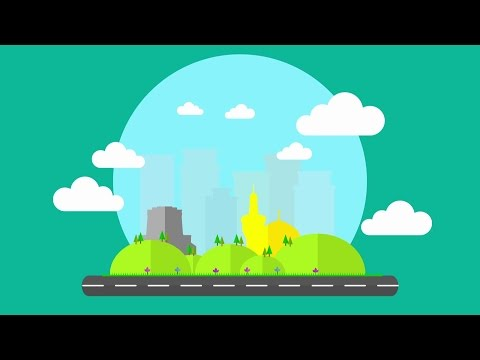 Air Pollution, Motion Graphic