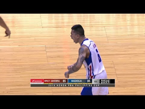 Jio Jalalon clutch basket | PBA Philippine Cup 2019
