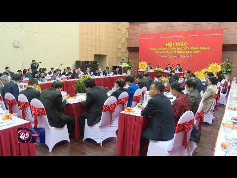 Tăng cường công tác xây dựng Đảng trong các cơ quan báo chí
