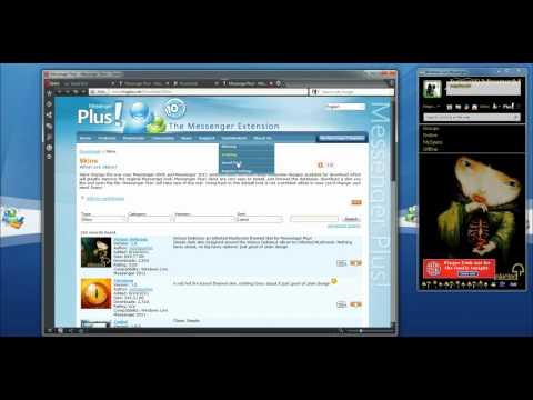 Video 1 de Messenger Plus: Pon un skin a tu Windows Live Messenger