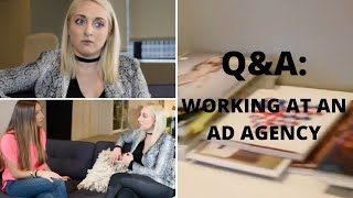 Q&A with Cristina from McCann Worldgroup about the ins and outs of working at an Ad Agency. Find jobs in advertising here: ...