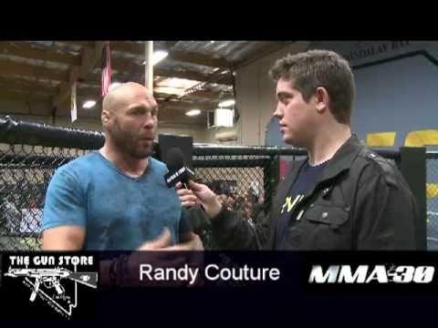 Randy Couture talks Machida Sonnen Brock  Maynard