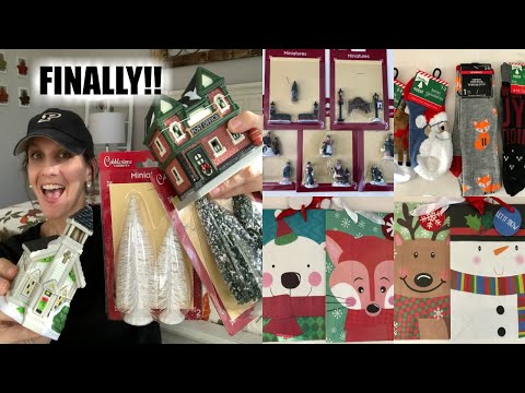 DOLLAR TREE HAUL | CHRISTMAS VILLAGE JACKPOT| DT WEEK DAY 4