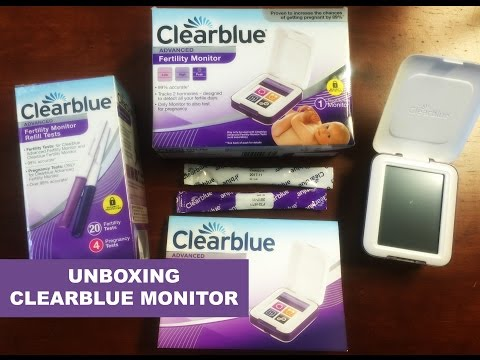 CLEARBLUE ADVANCE FERTILITY MONITOR - OVULATION MONITOR - UNBOXING