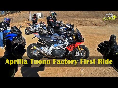 2019 Aprilia Tuono Factory | First Ride