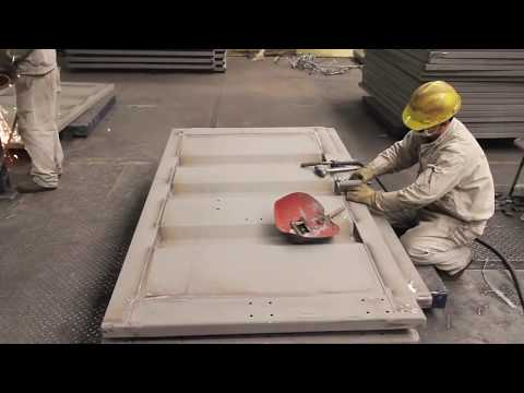 containers - This is a video we produced from inside a Chinese factory showing the building of an intermodal shipping container. These containers are purpose built for Bi...