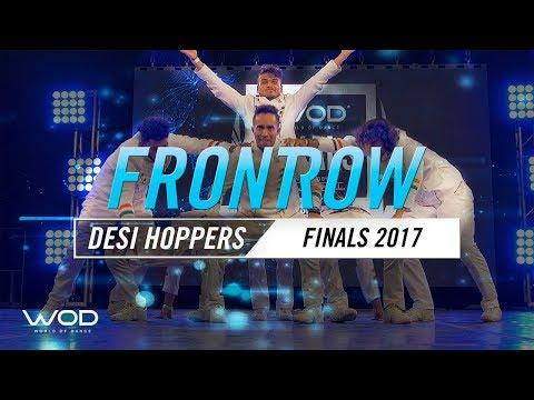 Desi Hoppers | FrontRow | World of Dance Finals 2017 | #WODFINALS17 (видео)