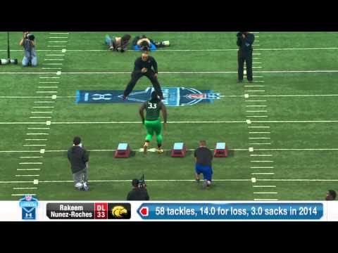 Rakeem Nunez-Roches 2015 NFL Combine video.