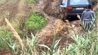 Range Rover P38 2.5 DSE Mud Hill