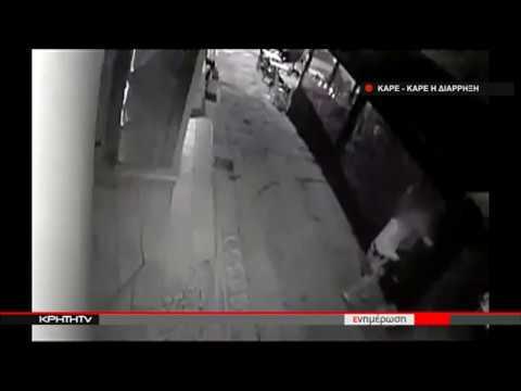 Καρέ - καρέ η ληστεία σε ουζερί στο Ηράκλειο
