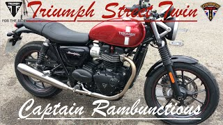 2. Triumph Street Twin - 1st Ride & Review