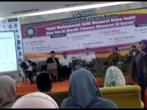 Insan Mokoginta (ex Kristen) vs Saifuddin Ibrahim (ex Muslim)