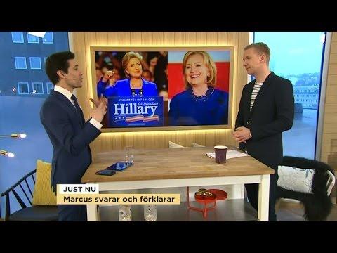 USA, Storbritannien & SD: Marcus svarar och förklarar – Nyhetsmorgon (TV4)