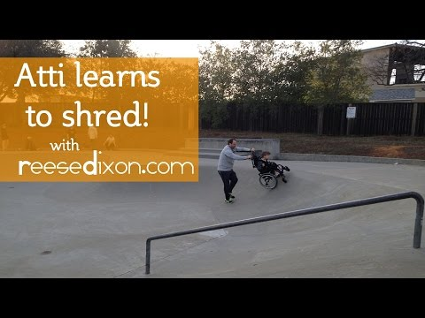 Dad Helps Son In Wheelchair SHRED On Skate Park [Video]