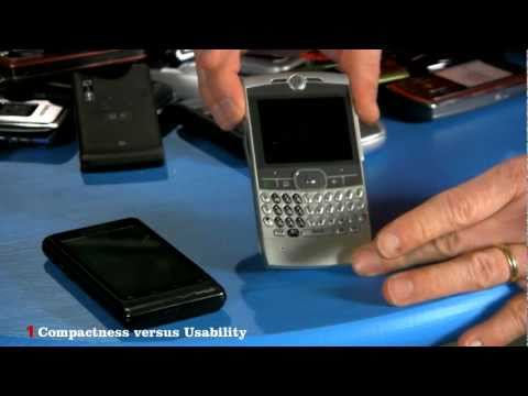 phone - Bill uses a pile of old cell phones to show the seven basic design constraints that shape a mobile phone. You can find a transcript of this video at http://w...