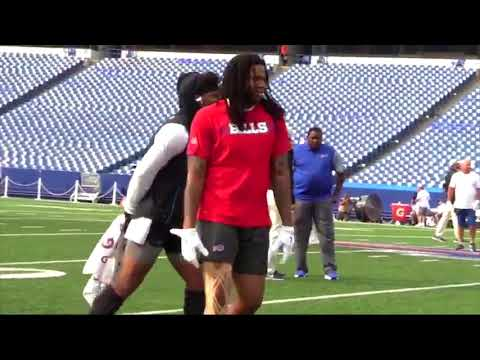 Cam Newton Confronts Kelvin Benjamin in Pregame Warmups and a Fight Almost Breaks Out