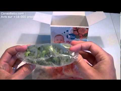 Ma Boîte à Légumes : légumes bébés surgelés