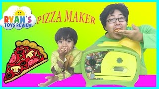 Teenage Mutant Ninja Turtles Pizza Oven Toys For Kids with Ryan and his family from ToysReview! We had a family fun time ...