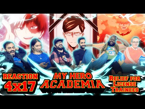 My Hero Academia - 4x17 Relief for License Trainees - Group Reaction