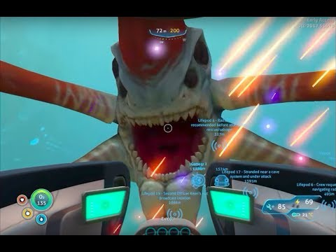 FINDING THE REAPER LEVIATHAN - Subnautica (episode 3) - Mackai Redway