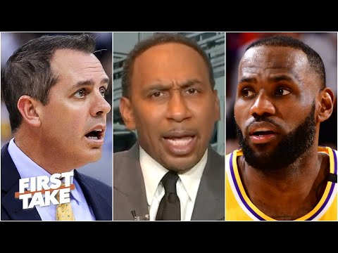 Stephen A. goes on a rant in reaction to the Lakers' blowout loss to the Suns in Game 5   First Take