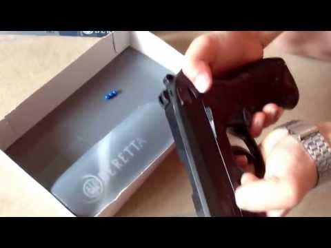 Unboxing e recensione Beretta px4 storm a molla da softair marca umarex